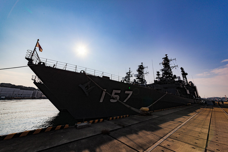 """JMSDF Escort ship """"ASAYUKI"""""""