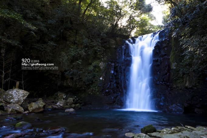 島原の滝 1.3秒