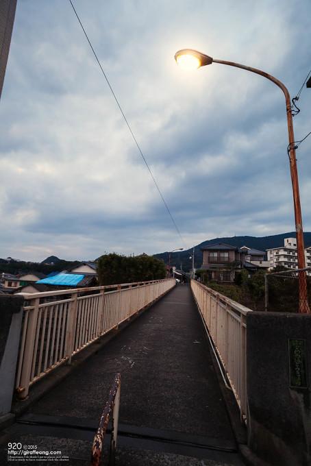 ふじわらブリッジ。前々から気になっていた所です。