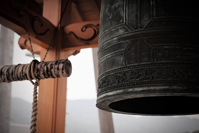 寺といえば鐘です。いいかね。