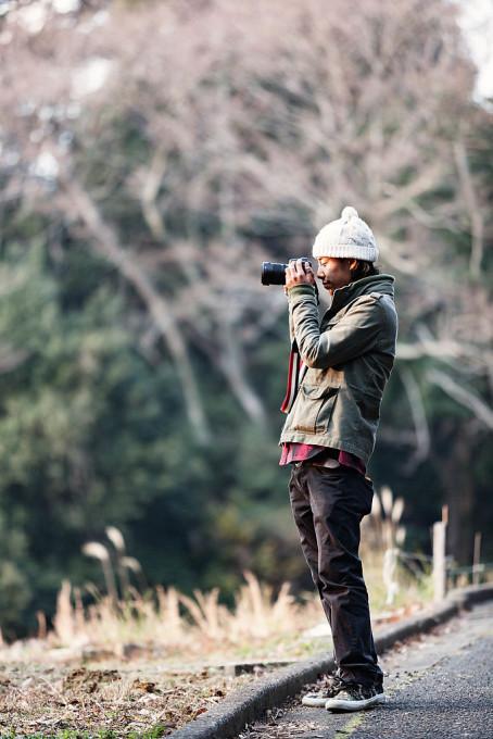 本日の同行者、最近カメラを始めた友達の「リュウザブロウ」