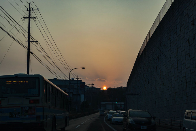 太陽をおいかけて船越町へ