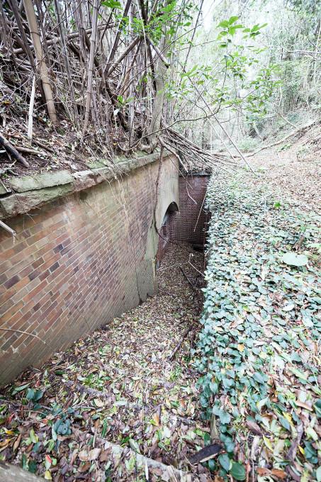 地下に掘られた倉庫もあるのですが、そこに下るまでの階段が多くの堆積物によってべちゃべちゃの坂道と化してしまっていて、下れませんでした。