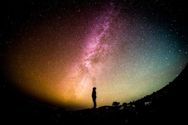 milky-way-universe-person-stars-looking-sky-night